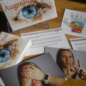 Augentraining Übungen Kartenset